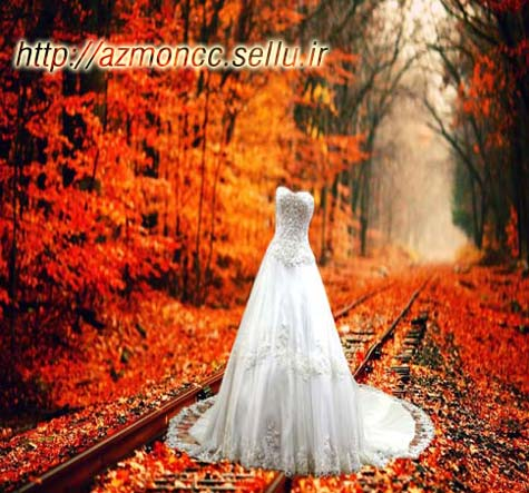 دانلود فایل psd لباس عروس