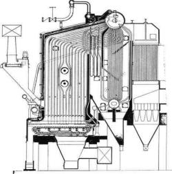 عملکرد بویلر در نیروگاه های بخار